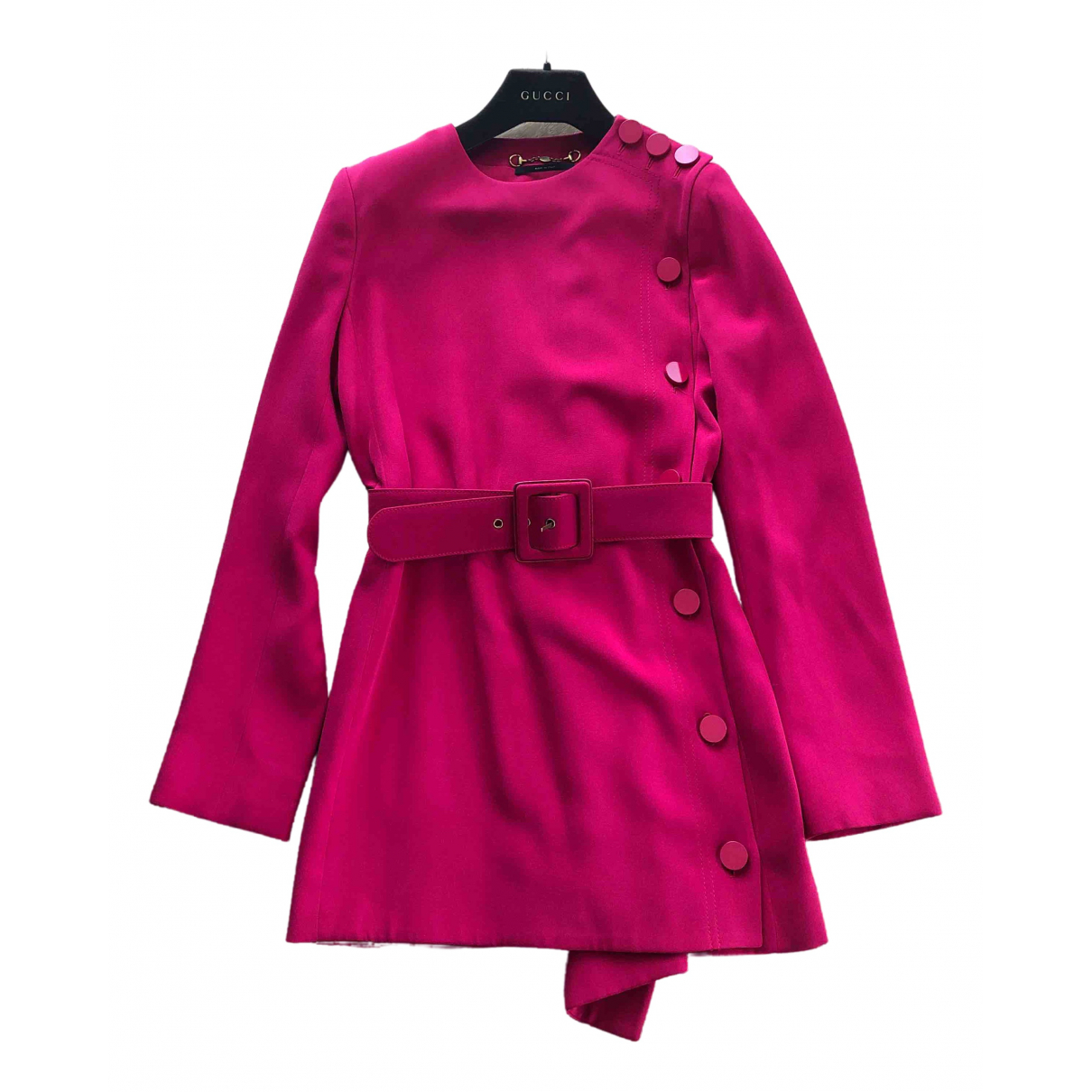 Gucci \N Pink Silk coat for Women 38 IT