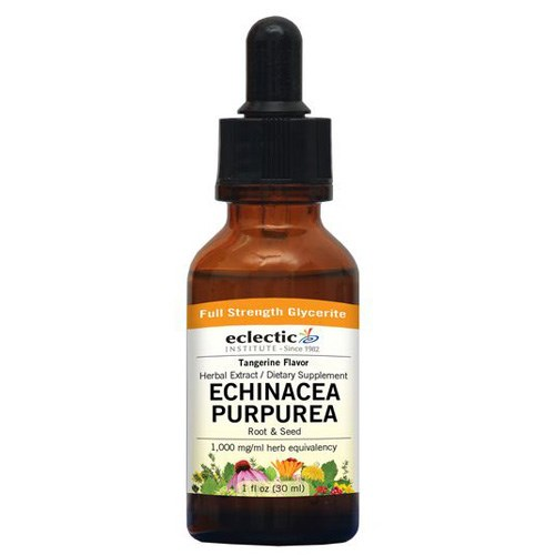 Echinacea Purpurea Tangerine 2 Oz Alcohol free by Eclectic Institute Inc