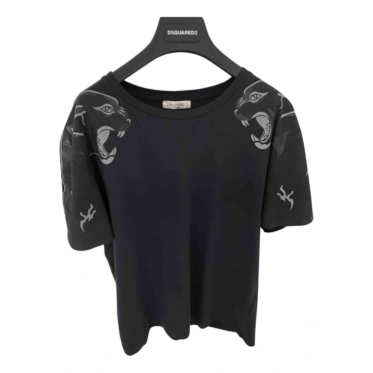 Valentino Garavani - Tee shirts   pour homme en coton - marine