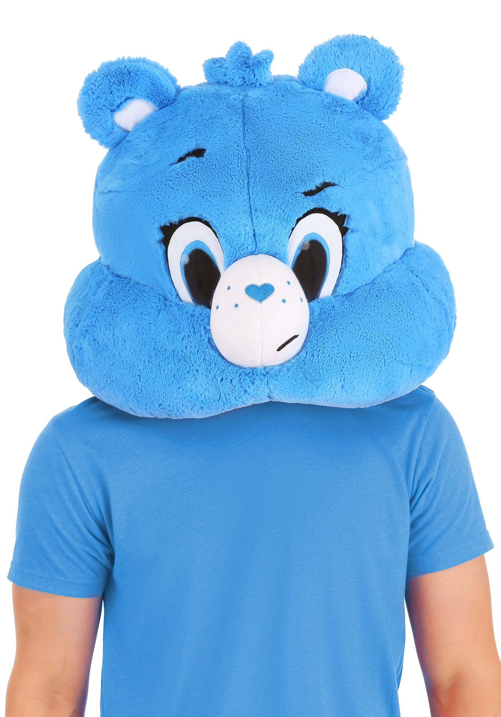 Care Bears Adult Grumpy Bear Mascot Mask