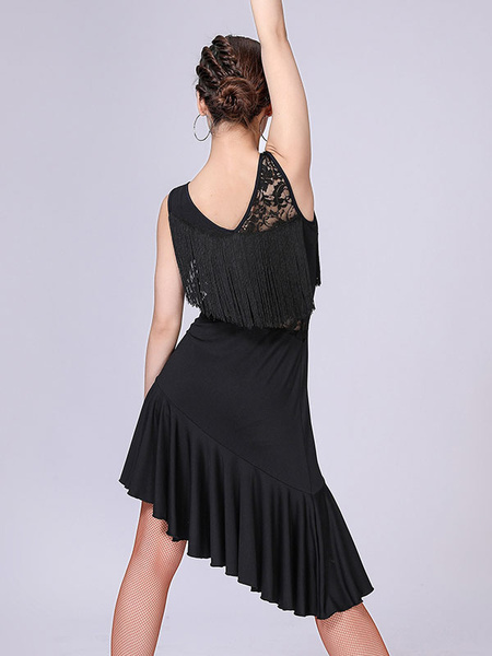 Milanoo Kids Dance Costumes Polka Flamenco Paso Doble Dresses Spanish Skirt for Girls Dancing Wears Outfit Halloween