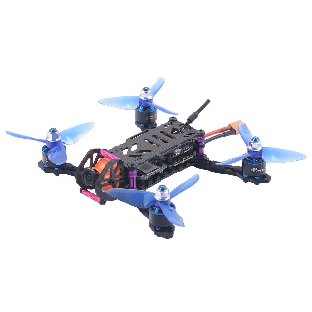 SKYSTARS Baby Turtle 145mm FPV Racing Drone F4 8K FC OSD 200mW VTX RunCam Split Mini2 DVR Camera Flysky IBUS Receiver - BNF