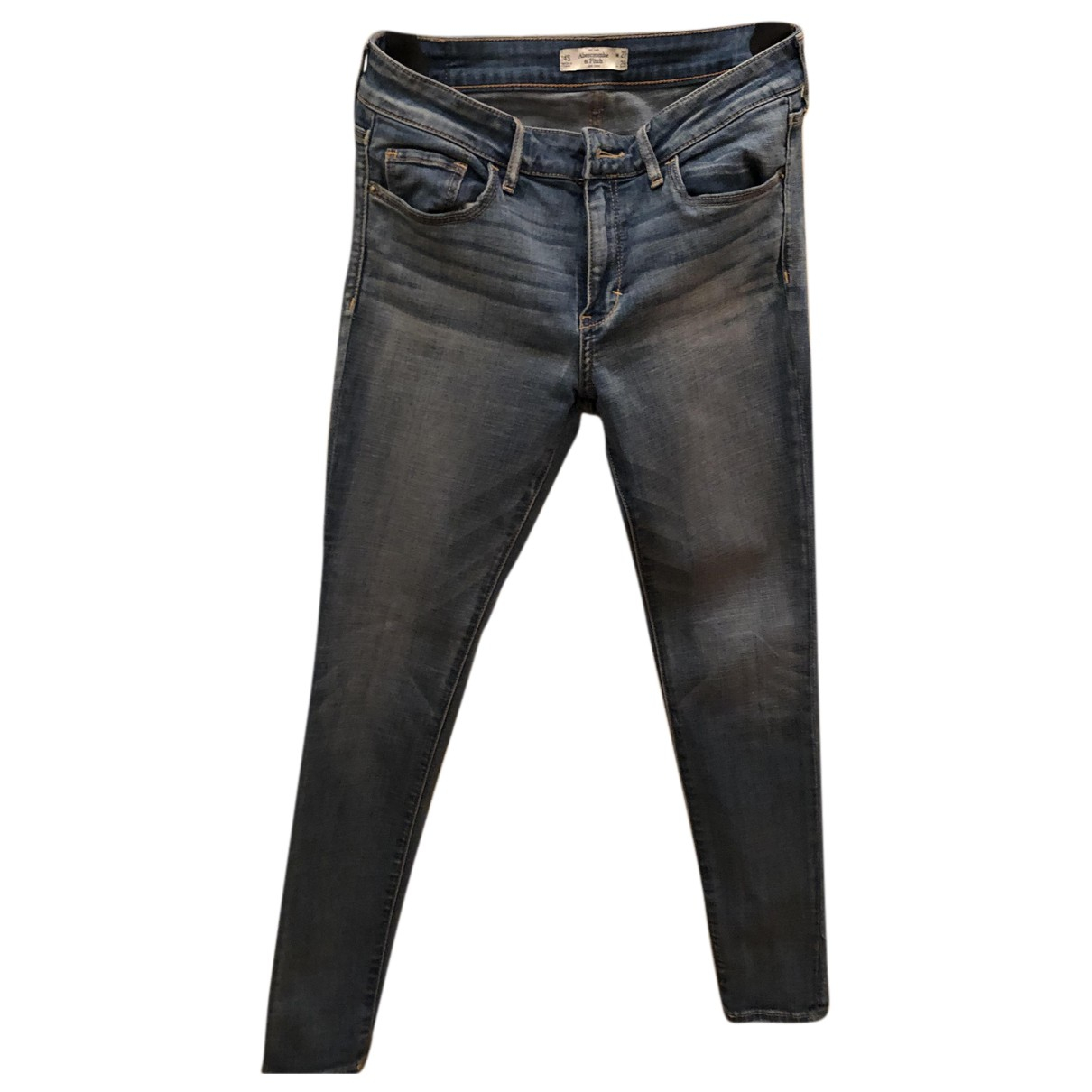 Abercrombie & Fitch N Blue Cotton - elasthane Jeans for Women 27 US