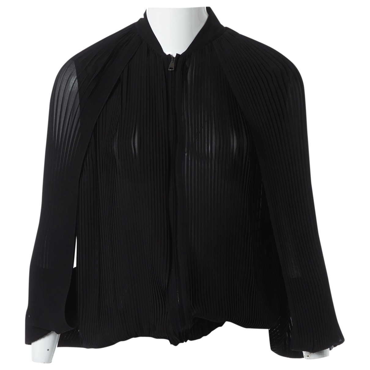 Gucci \N Black Silk  top for Women 40 IT
