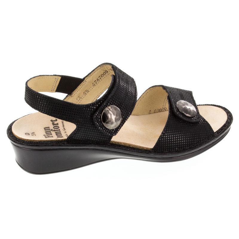 Finn Comfort Alanya Black Points Leather 5 Uk