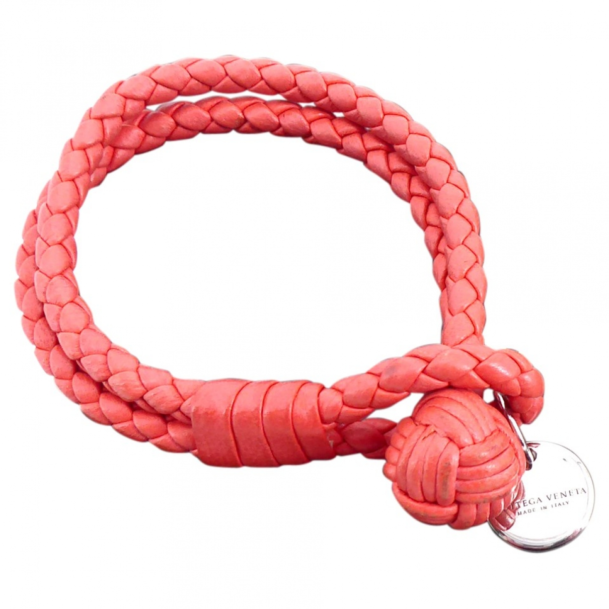 Bottega Veneta \N Armband in  Rot Lackleder