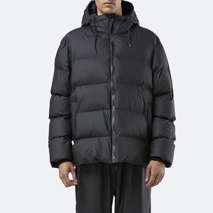 Rains Puffer Jacket 1506 BLACK