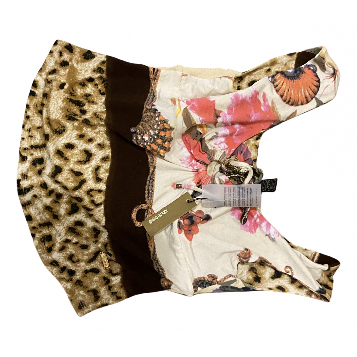 Roberto Cavalli \N Multicolour Cotton  top for Women L International