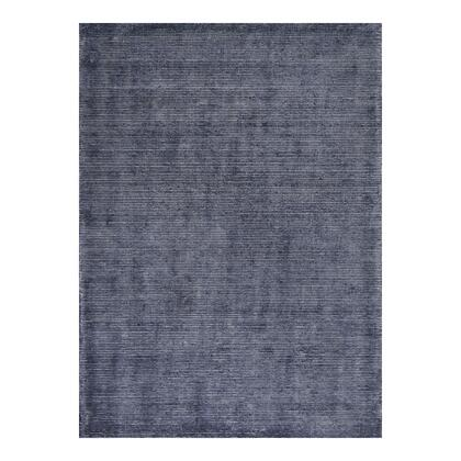 Serano Collection JH-1019-07 5' x 8' Rug with Back: 100% Cotton in Gray