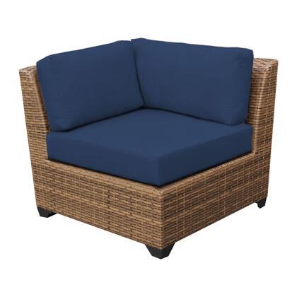 TKC025b-CS-DB-NAVY Laguna Corner Sofa 2 Per Box with 2 Covers: Wheat and
