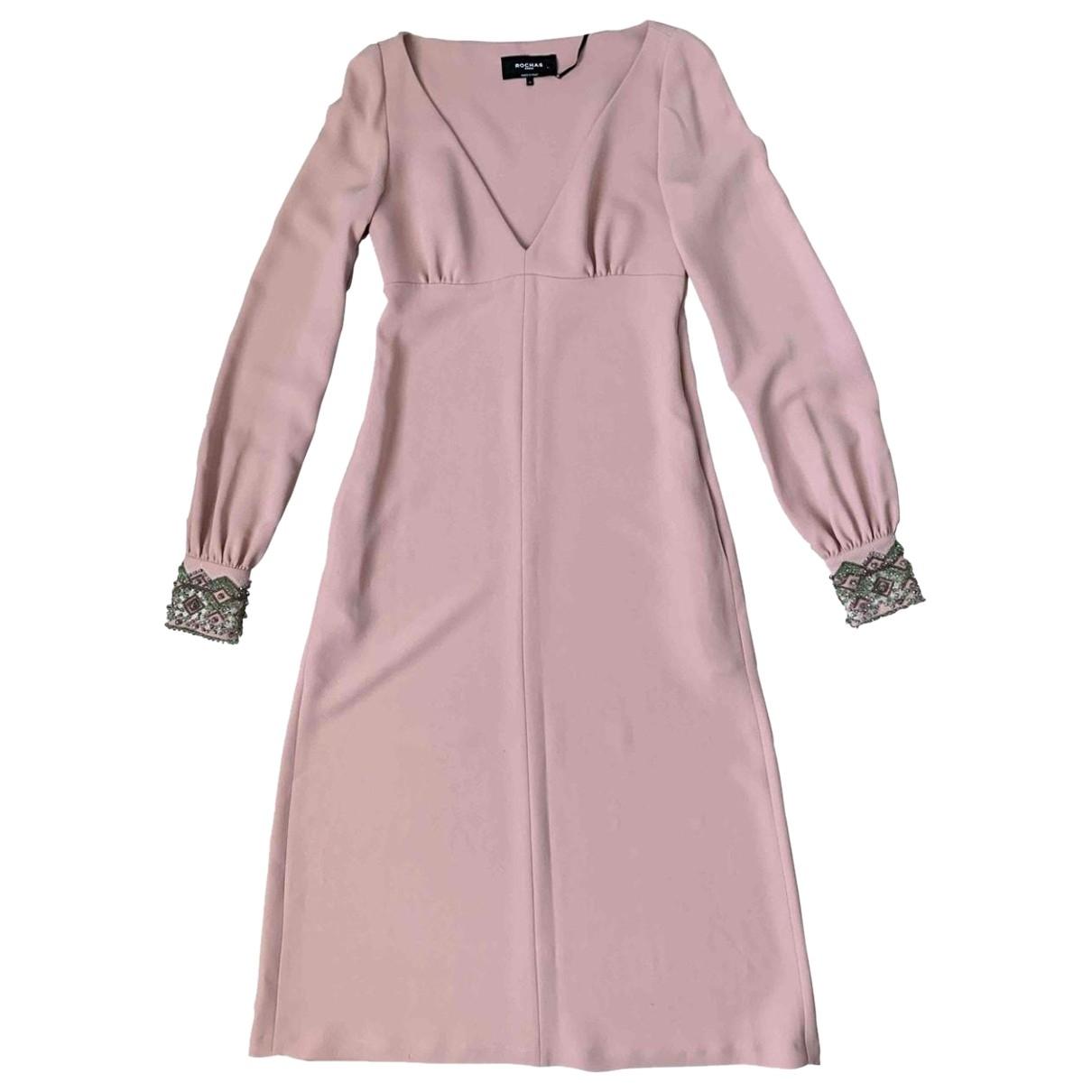 Rochas - Robe   pour femme - rose