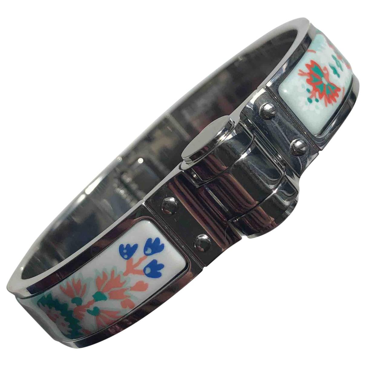 Hermes \N Armband in  Bunt Metall