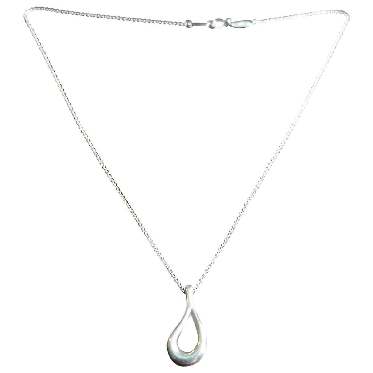 Tiffany & Co - Collier Elsa Peretti  pour femme en argent - argente