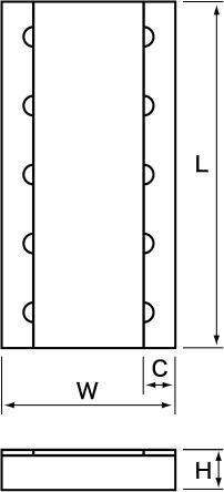 Susumu Co 470mΩ, 0815 (2037M) Thin Film SMD Resistor ±1% 1W - RL3720WS-R47-F (50)