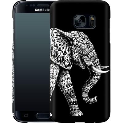 Samsung Galaxy S7 Smartphone Huelle - Ornate Elephant 3.0 von BIOWORKZ