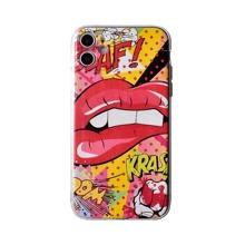 iPhone Schutzhuelle mit Lippen Muster
