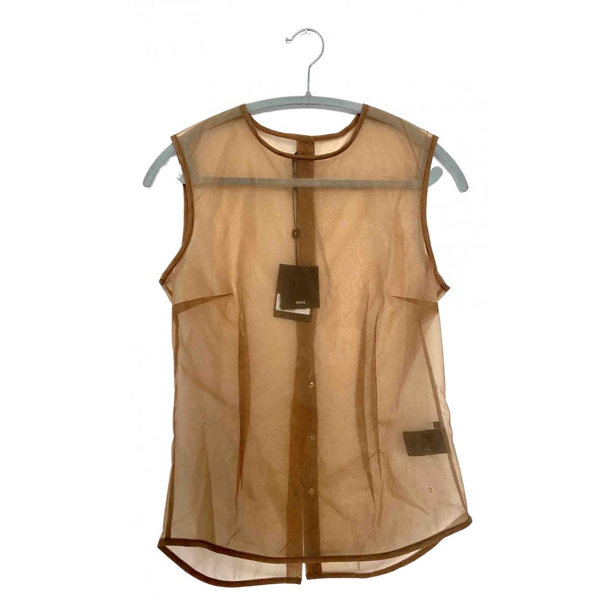 Bruuns Bazaar - Top   pour femme - marron
