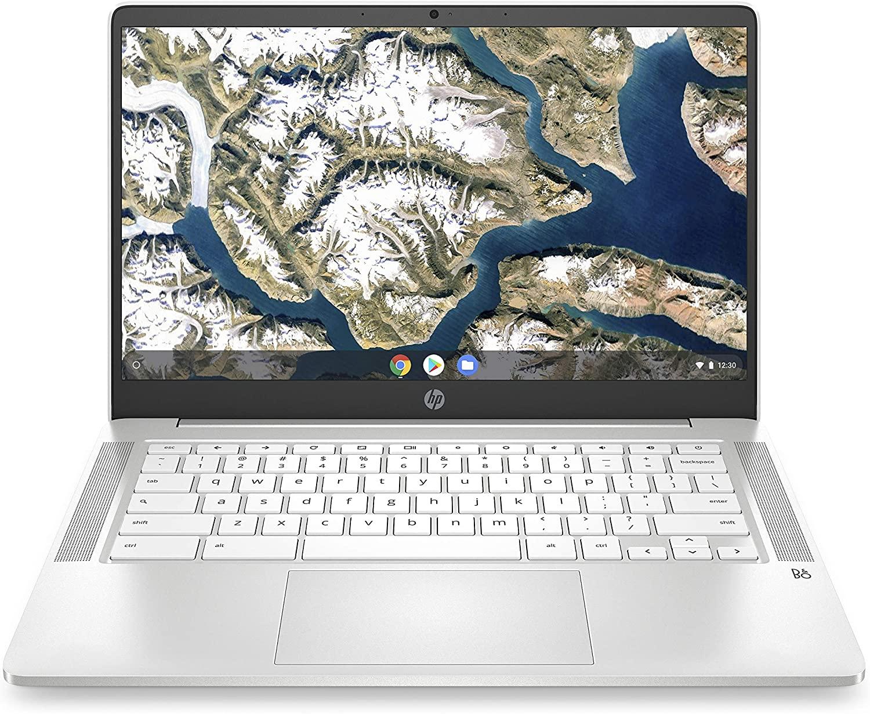 HP Chromebook N4000 14-in 4GB 32GB - White - 14ana0020nr