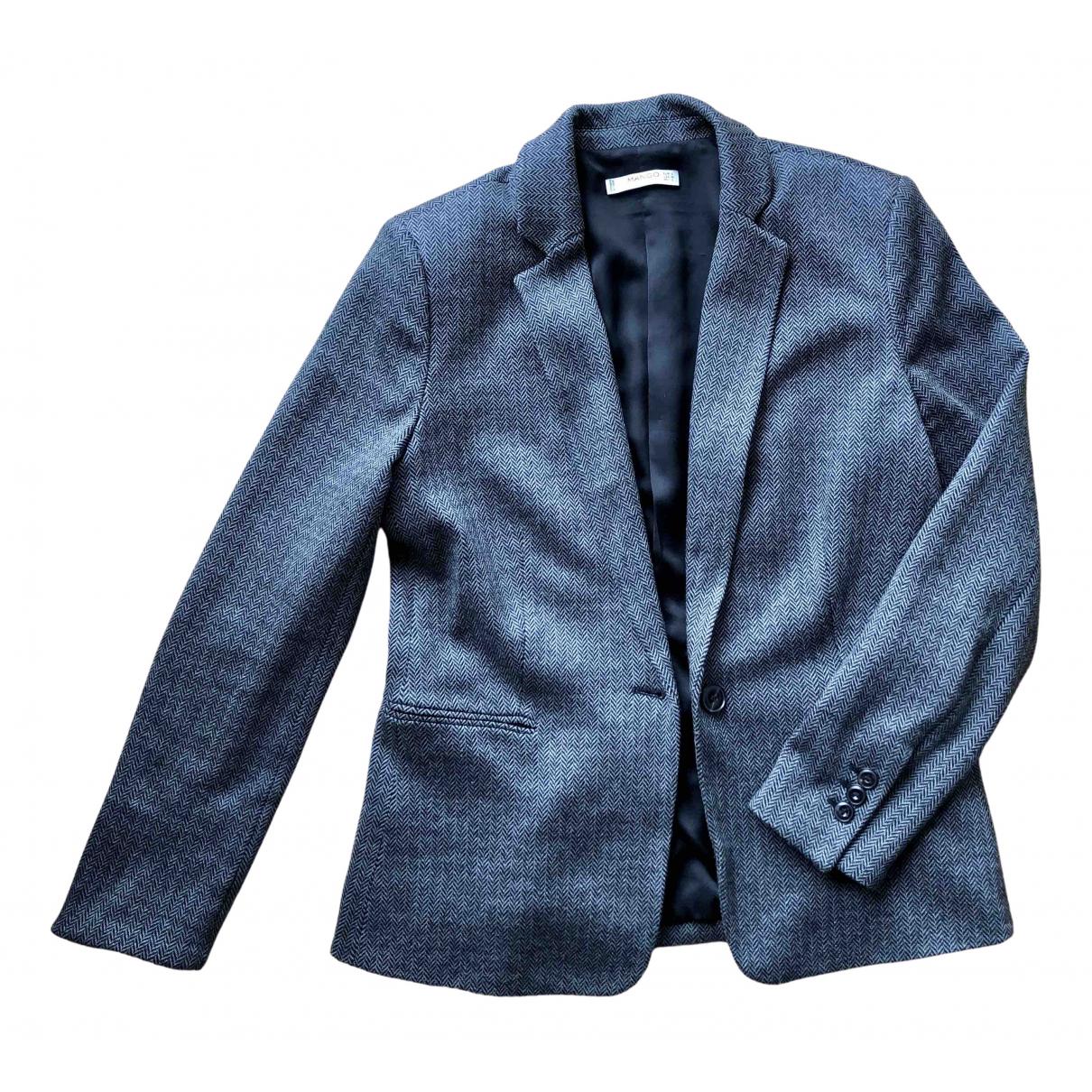 Mango N Grey Cotton jacket for Women L International