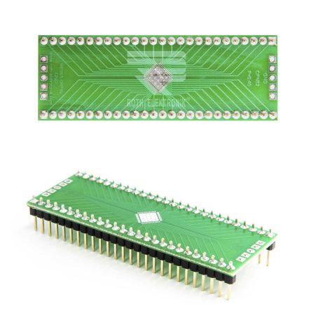 Roth Elektronik PCB Adapter Epoxy Glass Double-Sided 66.9 x 23.8 x 1.5mm