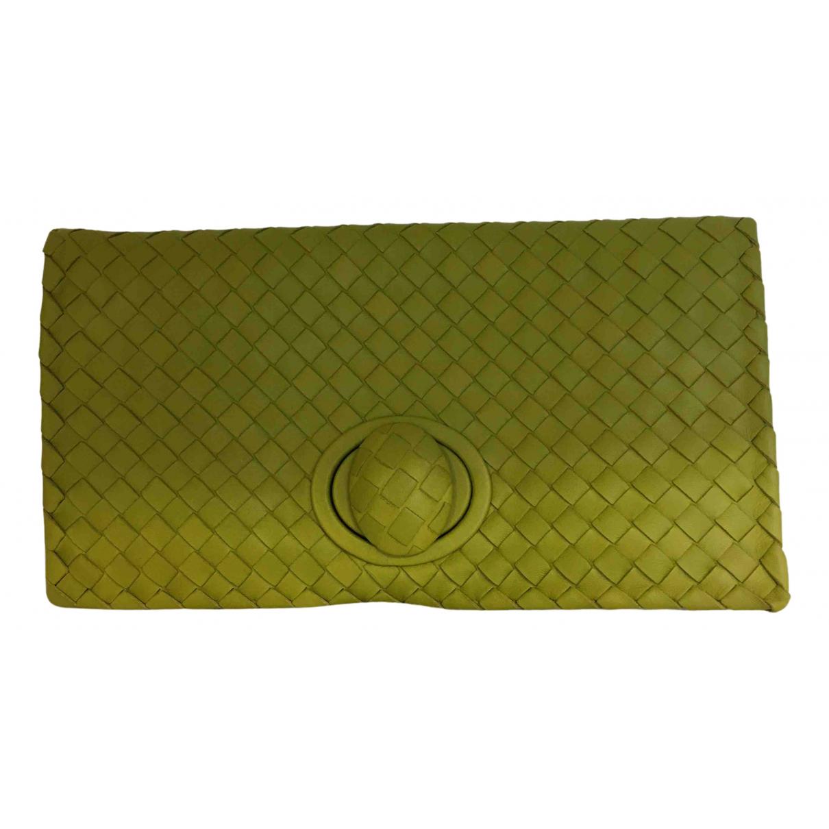Bottega Veneta N Green Leather handbag for Women N