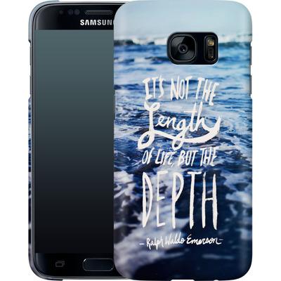 Samsung Galaxy S7 Smartphone Huelle - Depth von Leah Flores