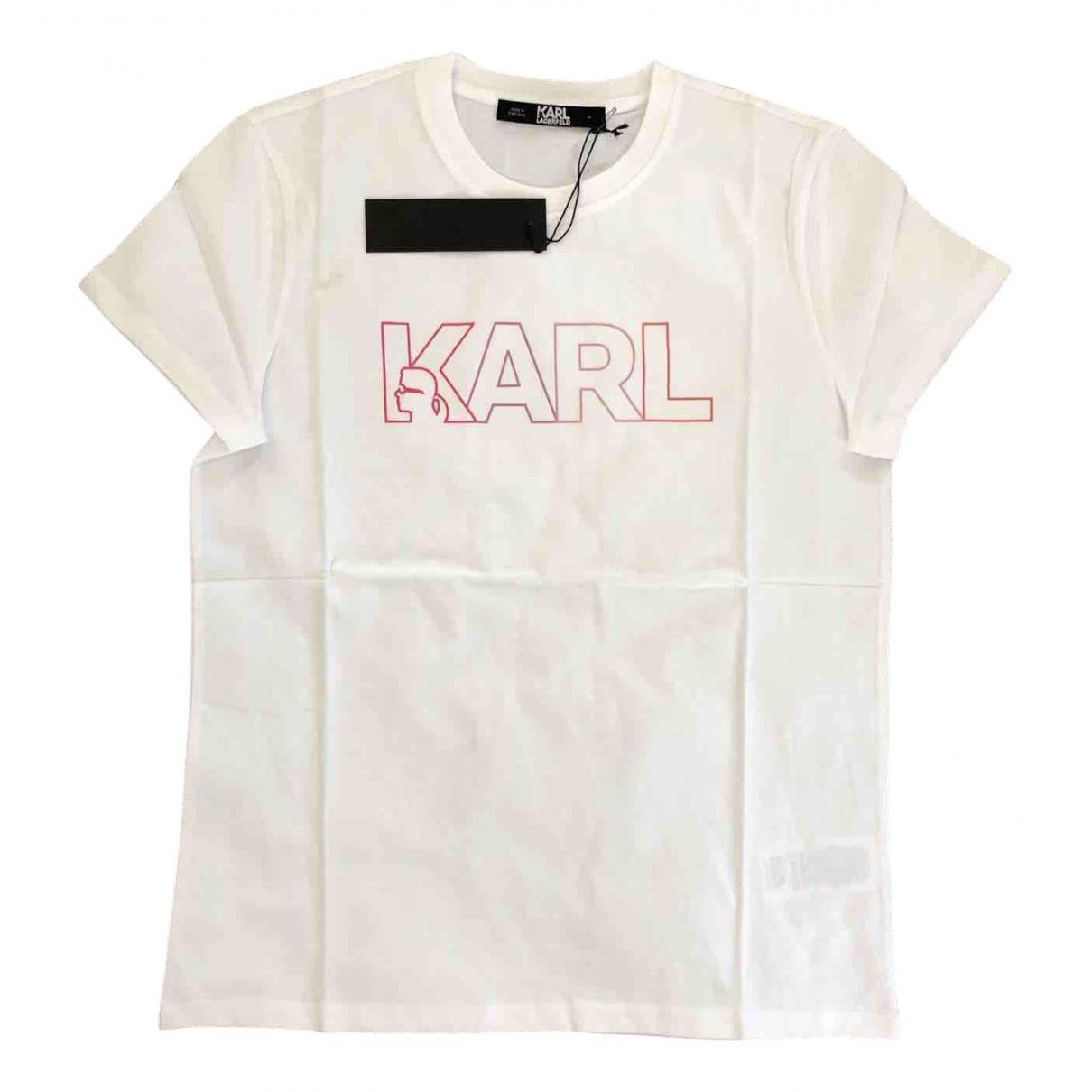Karl Lagerfeld \N Top in  Weiss Baumwolle
