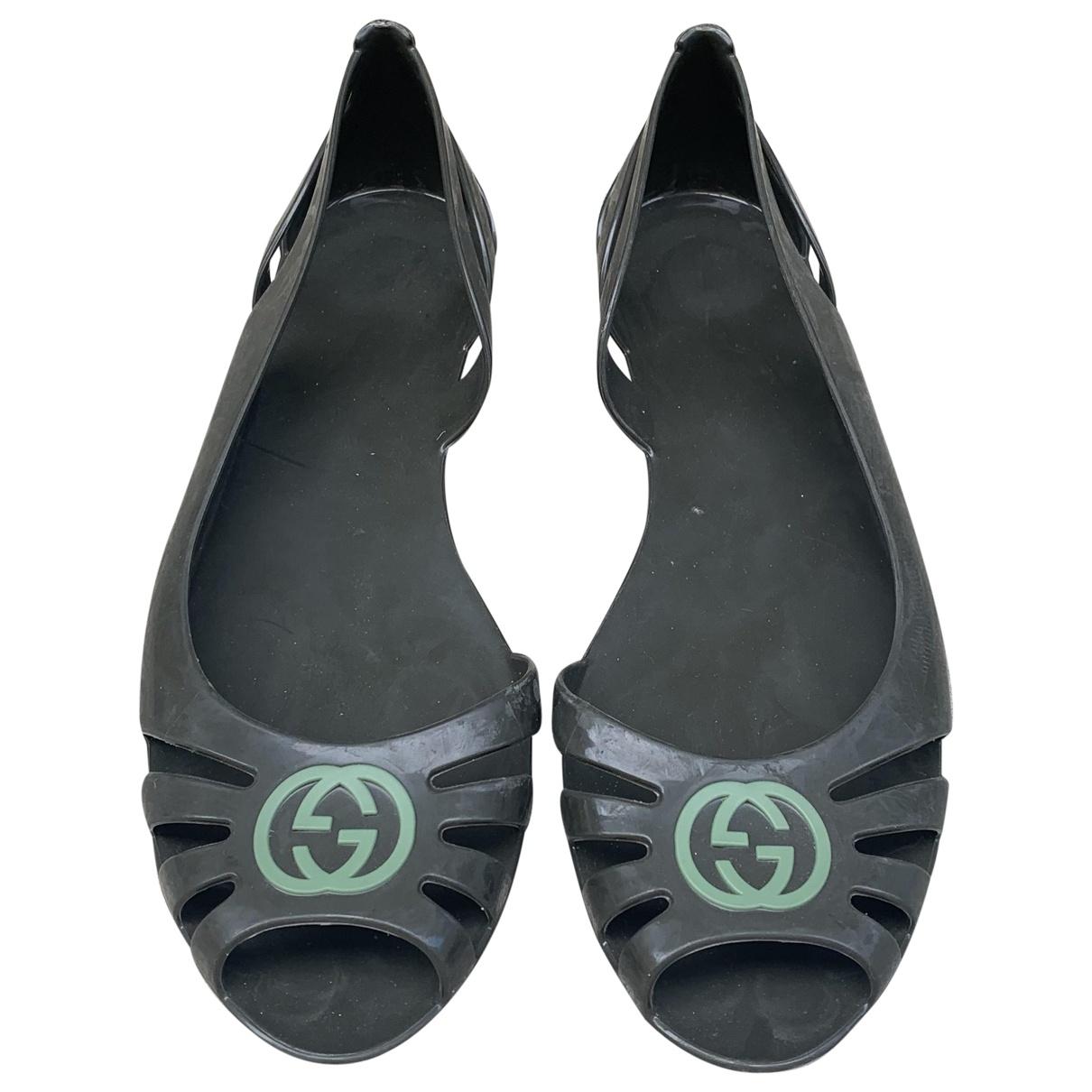 Gucci \N Green Ballet flats for Women 38 EU