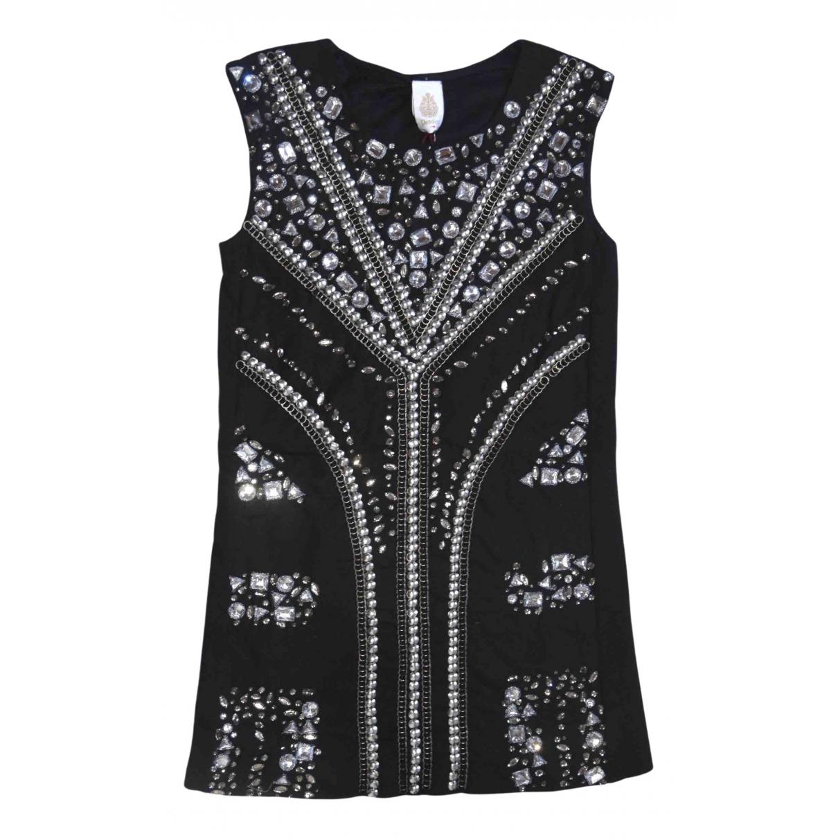 Dondup \N Kleid in  Schwarz Baumwolle