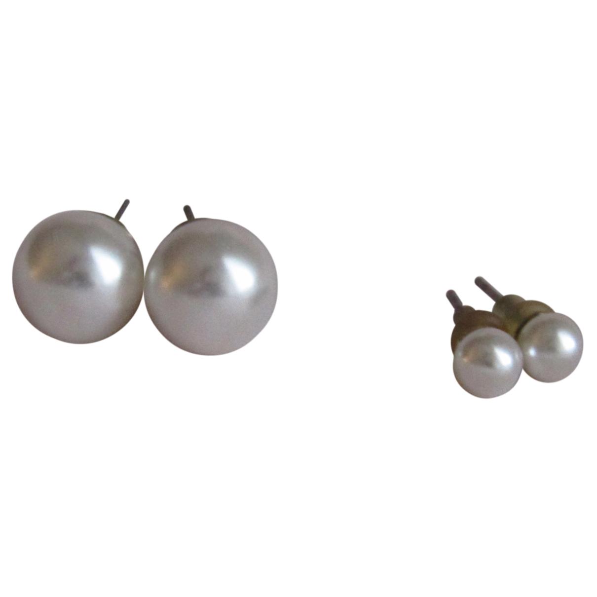 - Parure   pour femme en perles - blanc