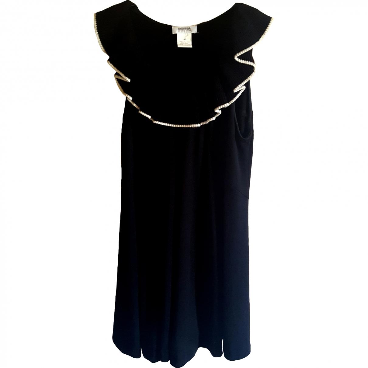 Sonia By Sonia Rykiel \N Kleid in  Schwarz Wolle