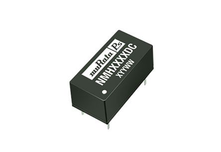 Murata Power Solutions NMH 2W Isolated DC-DC Converter Through Hole, Voltage in 21.6 → 26.4 V dc, Voltage out