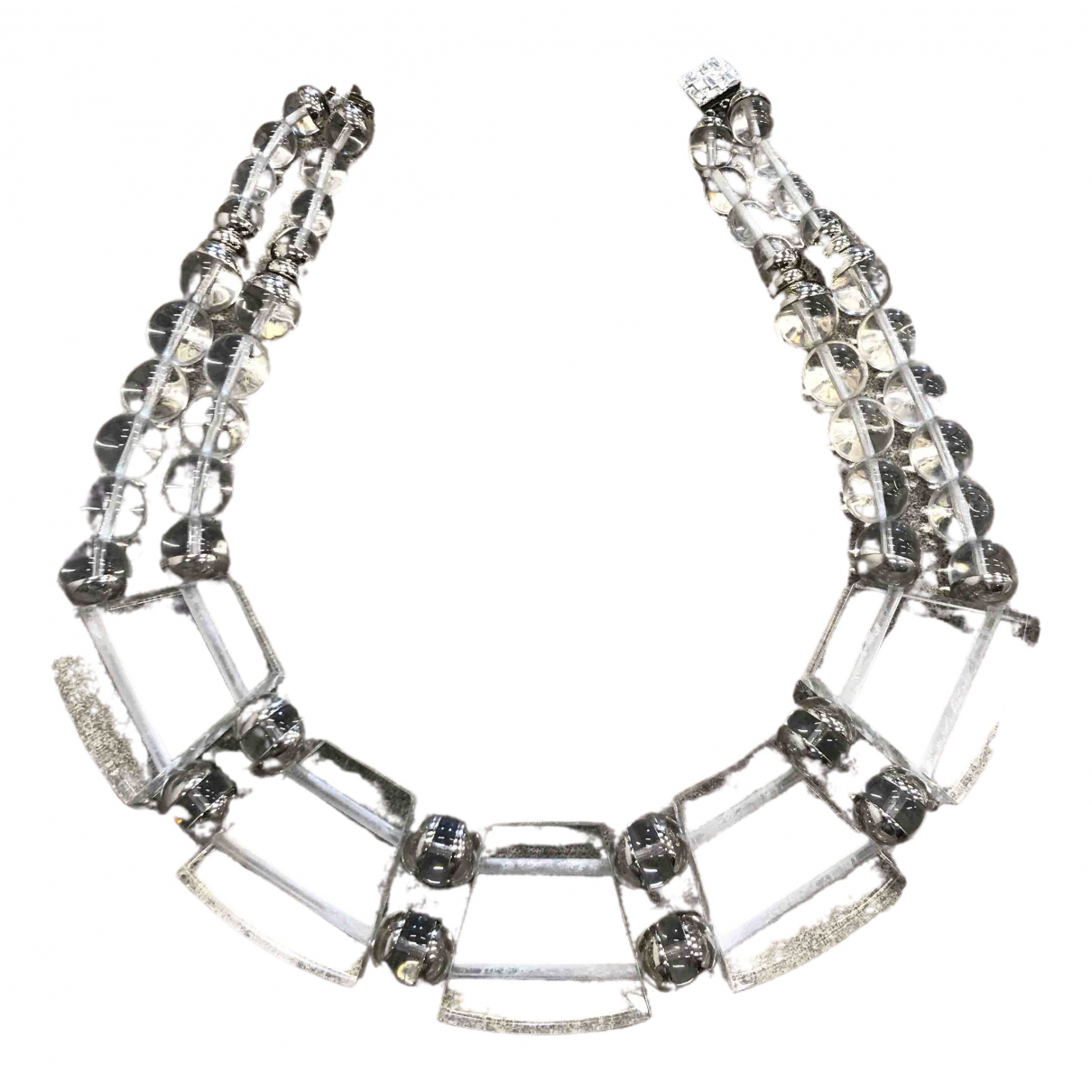 Dior \N Pearls Long necklace for Women \N