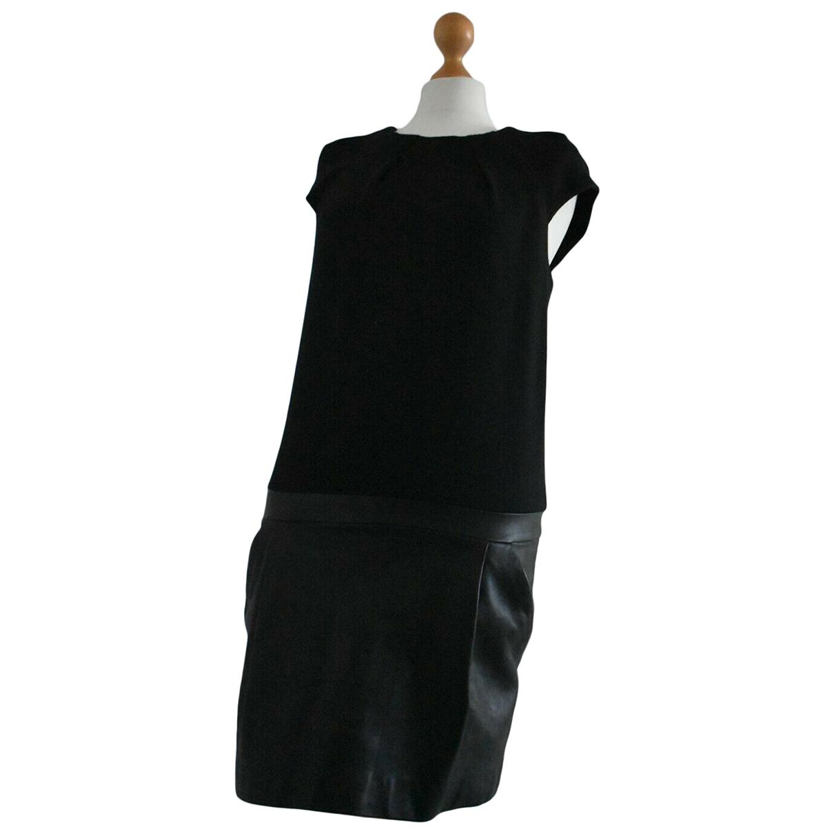 Vanessa Bruno \N Kleid in  Schwarz Leder