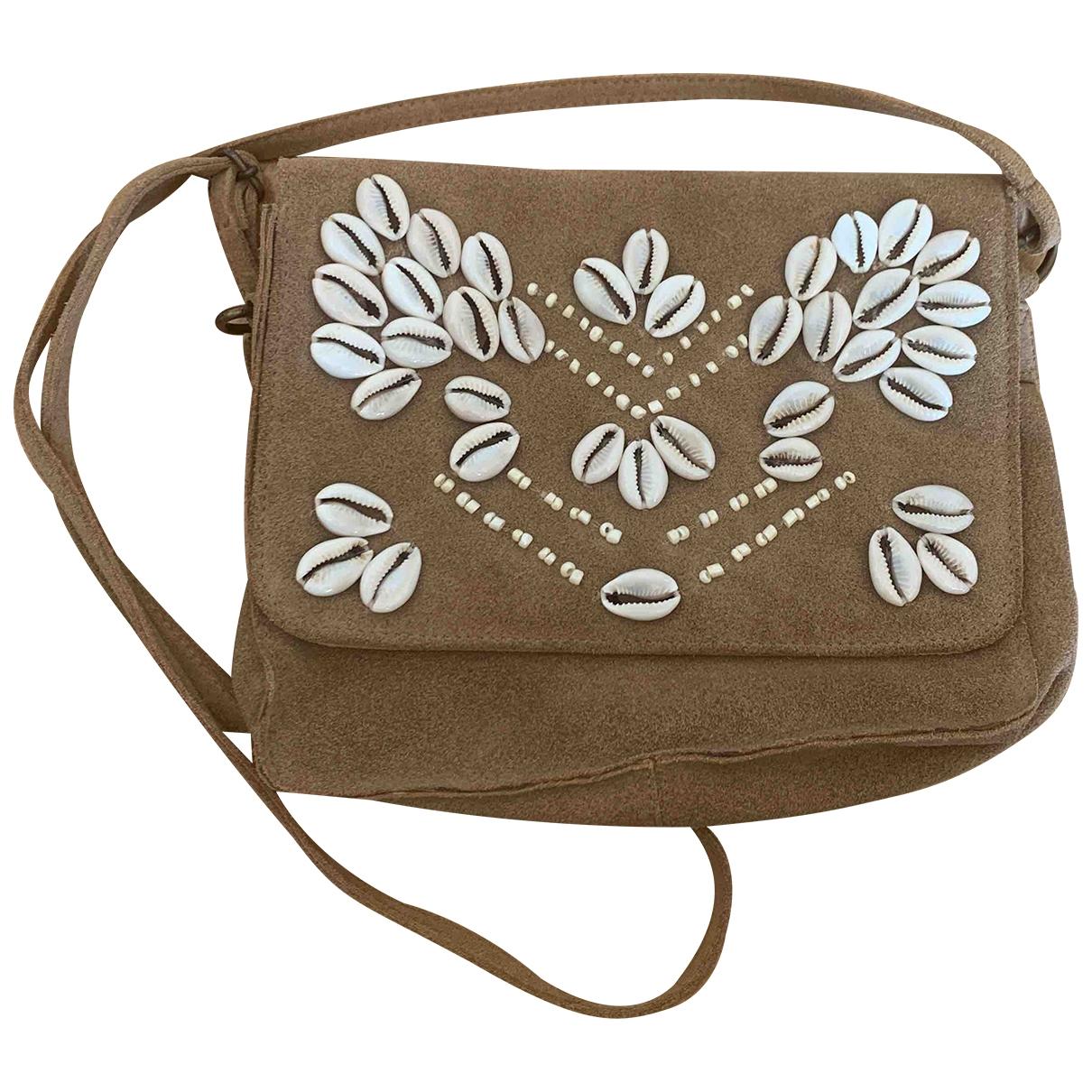 Hipanema \N Beige Suede handbag for Women \N