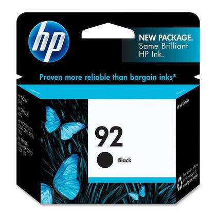 HP 92 C9362WN Original Black Ink Cartridge