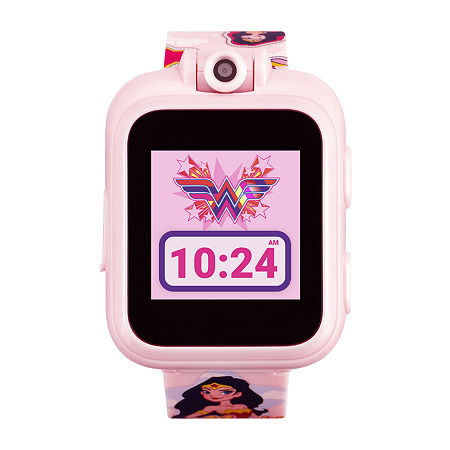 Itouch Playzoom Wonder Woman Girls Pink Smart Watch-13886m-42-Pnp, One Size , No Color Family