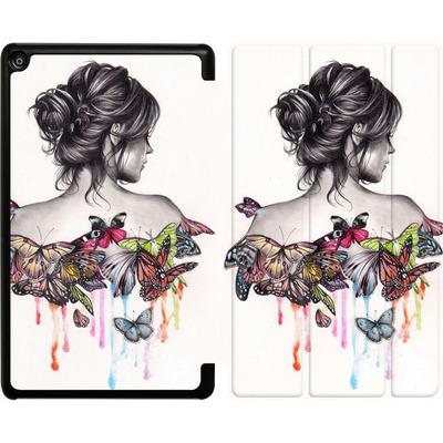 Amazon Fire HD 8 (2017) Tablet Smart Case - Butterfly Effect von Kate Powell