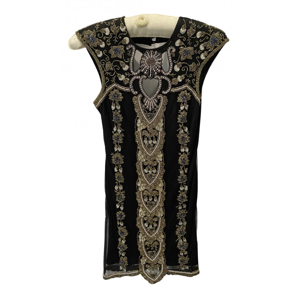 Miss Selfridge \N Kleid in  Schwarz Polyester