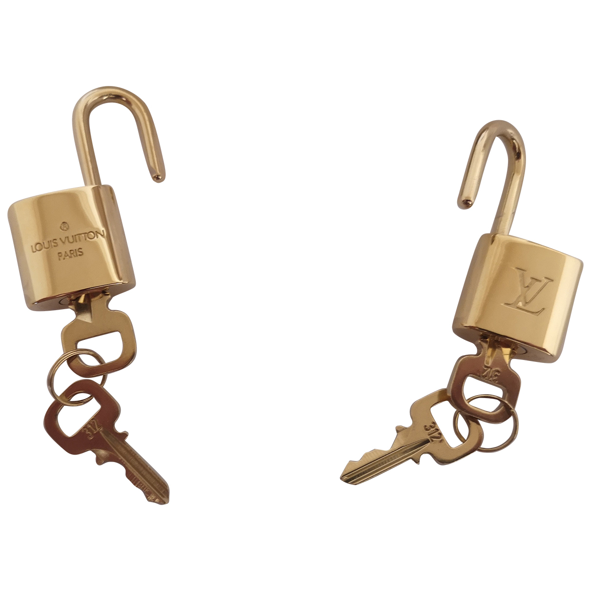 Louis Vuitton Cadenas Gold Bag charms for Women N