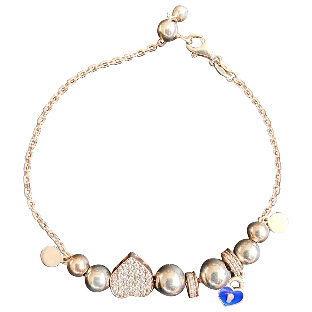 - Bracelet   pour femme en argent - rose