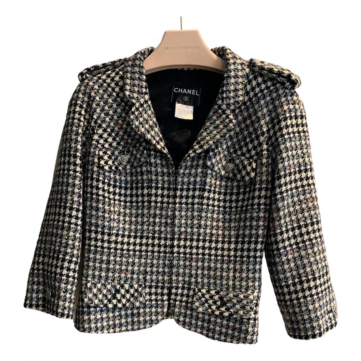 Chanel N Black Wool jacket for Women 40 FR