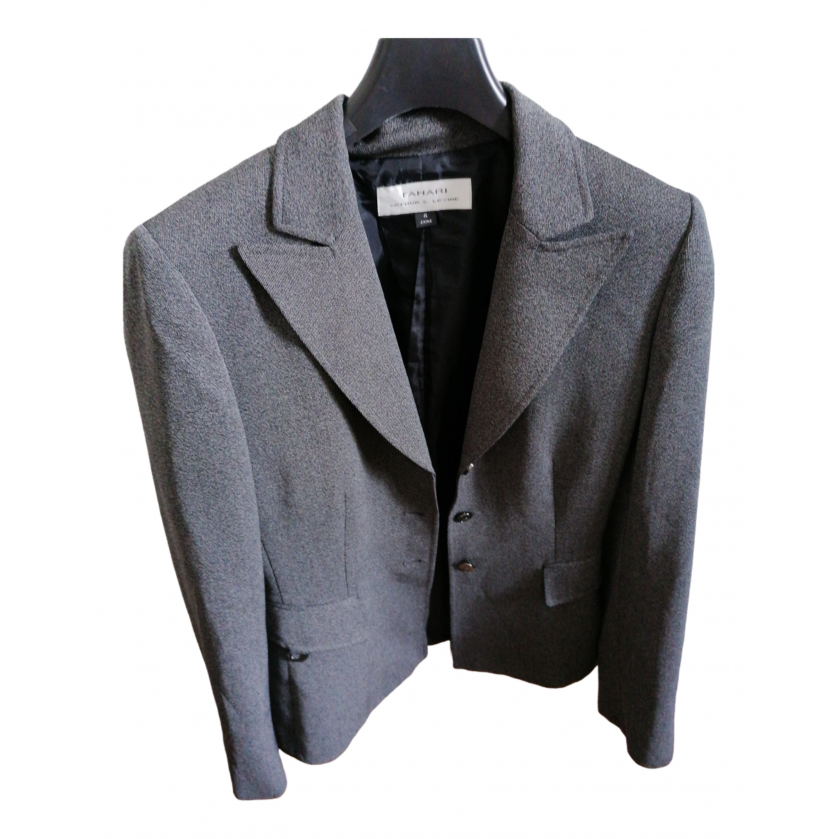 Non Signé / Unsigned \N Grey jacket for Women 4 UK