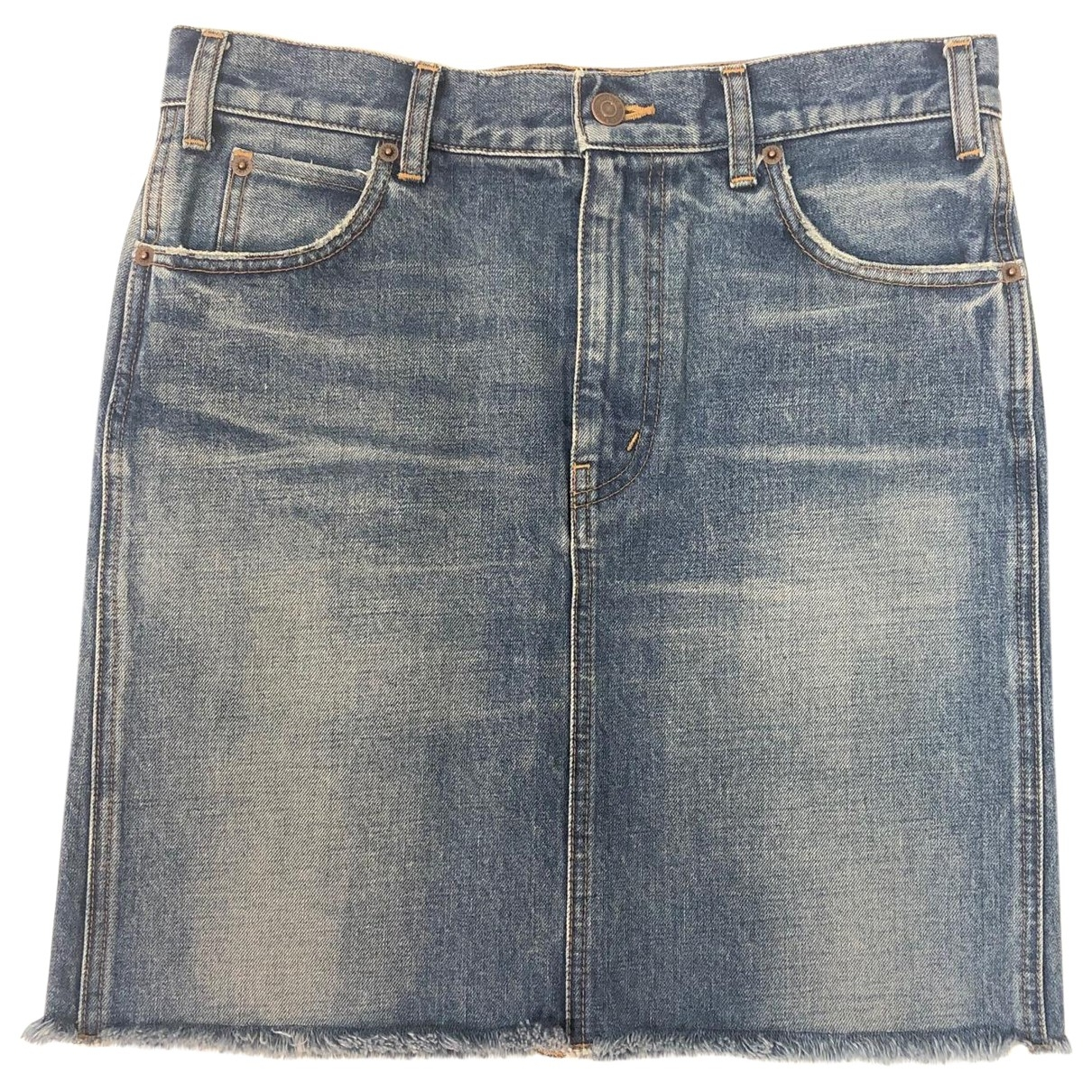 Celine \N Rocke in Denim - Jeans