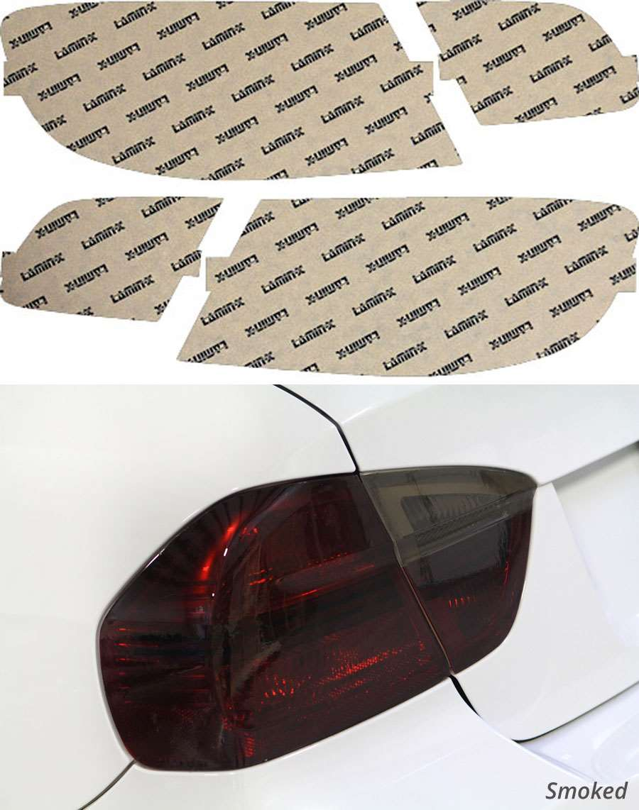 BMW 3-Series Coupe 07-10 Smoked Tail Light Covers Lamin-X B221S