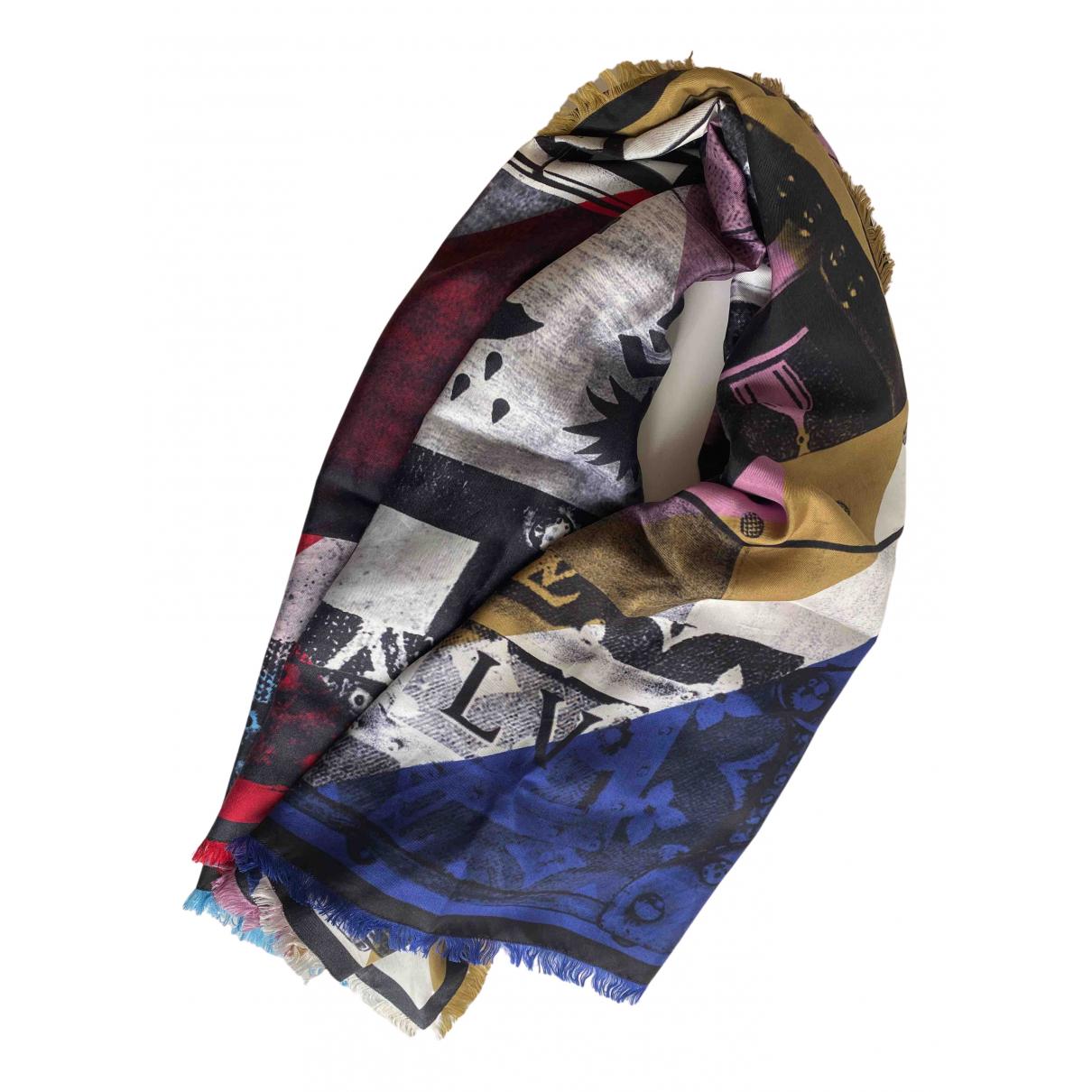 Bufanda de Seda Louis Vuitton
