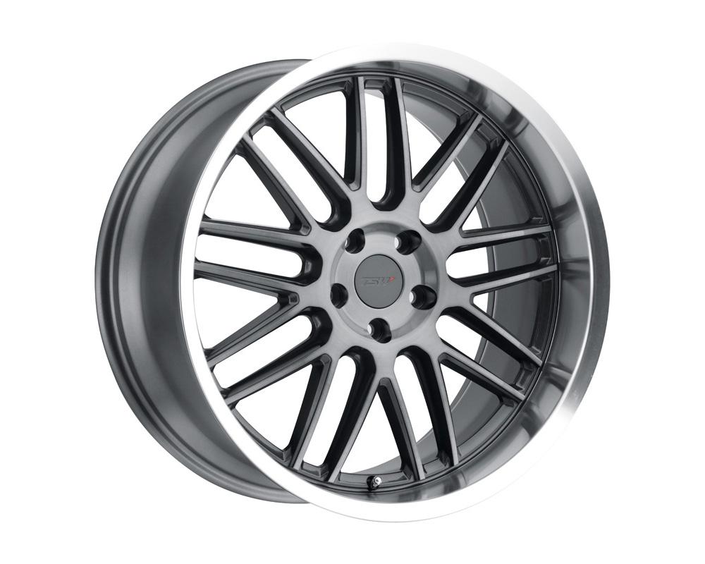 TSW Avalon Wheel 18x9.5 5x112 39mm Gunmetal w/Brushed Gunmetal Face & Machined Lip