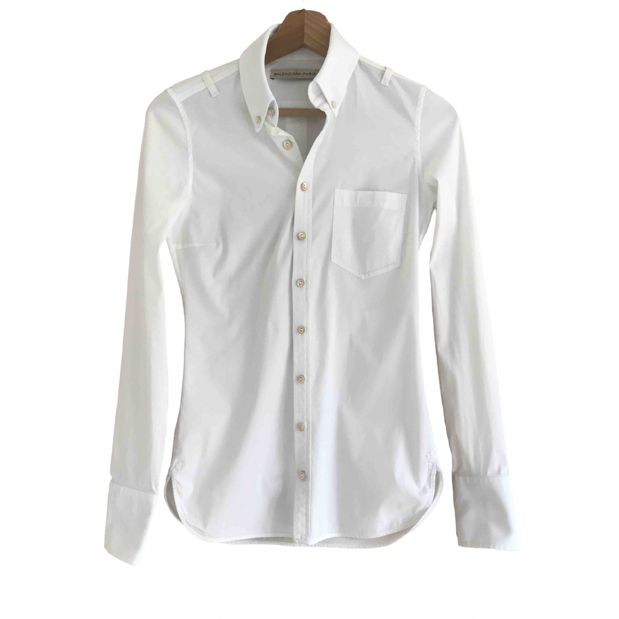 Balenciaga \N White Cotton  top for Women 36 FR