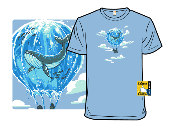 Flying Water Balloon T Shirt