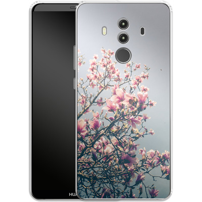 Huawei Mate 10 Pro Silikon Handyhuelle - She Bloomed Everywhere She Went von Joy StClaire